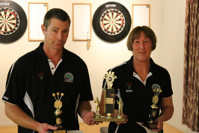 Ayleen and Bevin Hawkey Memorial Open Mixed Pairs Winners