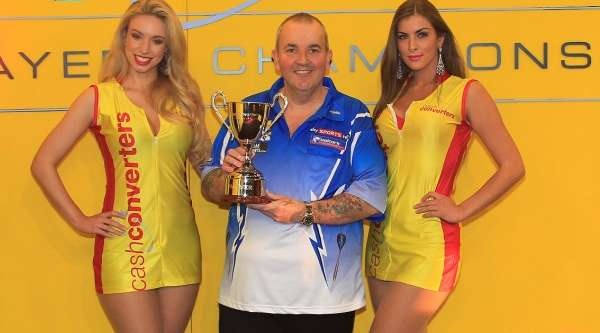 Cash Converters Players Championship Winner Phil (The Power) Taylor