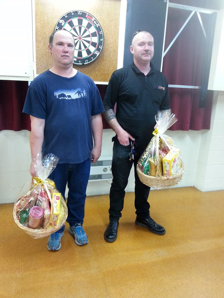 Waimate Town & Country Club Open Christmas Pairs Winners Jason Milne and Trevor Freeman