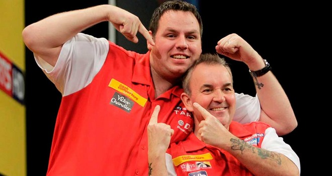 The Cash Converters World Cup Winners England (Phil Taylor & Adrian Lewis)